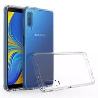 Casing Samsung A7 2018 & A750 Case Anti Crack TPU Clear Transparant