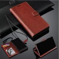 XIOAMI REDMI 5 PLUS Flip Walet Sarung Leather Slot Sim Card Back Cover
