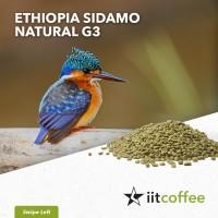 Arabica Green Beans - Ethiopia Sidamo G3 Natural 1Kg