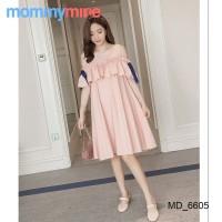 Mommymine Baju Hamil / Dress Hamil Menyusui Impor (MD_6605)