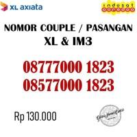 Nomor Cantik Couple / Pasangan Nomer XL & Indosat IM3 Triple 000 1823