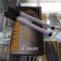 Pulpen Pilot Balliner / Ball Liner Medium 0.8 mm / Hitam
