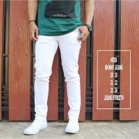 Celana Jeans Putih / Celana Panjang Pria / Skinny Jeans Pria