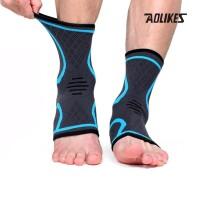 Aolikes 7132 Ankle Compression Support Guard - Pelindung Kaki - BLUE