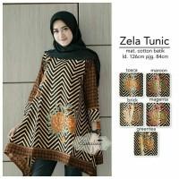 Tunik Jumbo Baju Batik Tunik Big Size Baju Batik Wanita