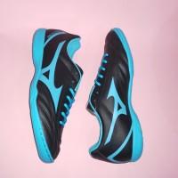 Sepatu Futsal Mizuno Monarcida Neo Select IN (Black/Blue Atol)