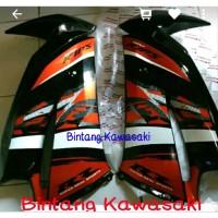 fairing atas orange Special edition 2014 ninja rr new original.. kawas