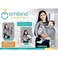 OMILAND - PANDA GENDONGAN SAMPING ABU + TOPI PRINT
