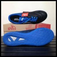 Trend Teraru Sepatu Futsal Specs Equinox Black Tulip Blue 400772