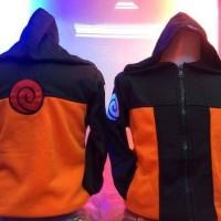 Jaket/Sweater/Jumper/Pakaian/Fashion anak naruto shippuden keren murah