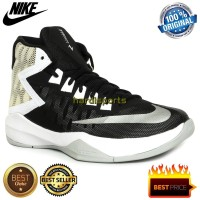 New Sepatu Basket Pria Nike Zoom Devosion 844592-001 - Blac