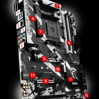 MSI X370 Krait Gaming - AM4