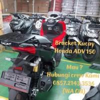 Bracket box motor Honda X ADV 150 original kucay geser givi kappa shad