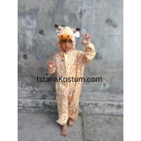 Boneka Maskot/Baju Kostum Badut Anak Karakter macan unik