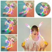 Bando Bunny LED Bandana Kelinci Bisa Bergerak Dan Nyala