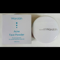 Wardah face acne powder 25gram