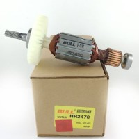 Bull Armature HR2470 rotary hammer angker HR 2470 rotor bor makita