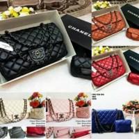 Tas wanita cewek branded fashion import Chanel Mom & Kids maxi 2in1