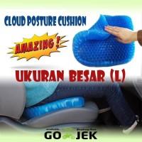 Bantalan Alas Duduk Silikon Gel Posture ventilasi Cushion - Egg Sitter