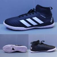 Sepatu Futsal Adidas Predator Boots Black White