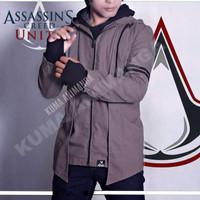 Jaket assassin creed abu Arno Hoodie asassins Arno assasin Coat Creed
