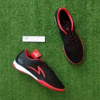 Specs Accelerator Infinity 19 IN (Sepatu Futsal) - Black/Red