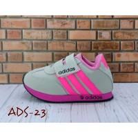 Sepatu Anak Murah Abu Pink ADIDAS