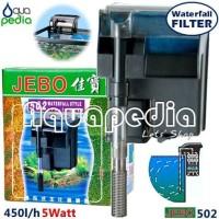 Filter Gantung Aquarium/Hang on Jebo 502