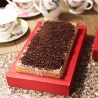 Kue Lapis Coklat atau Keju ukuran 30 x 10 cm