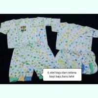 6 stel baju bayu baru lahir 0-12 bln newbron