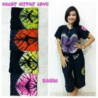 Setelan Kulot Batik / Baju Tidur Wanita / Baju Batik Daster