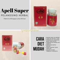 Apell Super Hemat Pelangsing Herbal 30 Hari
