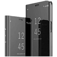 Casing Samsung Galaxy Note 10 10 PLUS flip mirror stand autolock cover