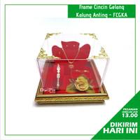 Kotak Perhiasan Anting Cincin Gelang Kalung untuk Seserahan FCGKA