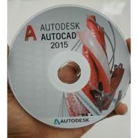 AutoCAD 2015 32bit & 64bit plus Tutorial Dasar sampai Mahir