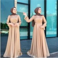 SPESIAL BAJU PESTA MX HANIN MAXY DRESS MUSLIMAH DEWASA NEW BEST SELLER