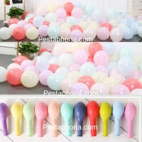 Balon Latex/Lateks Macaron Size 10 inch