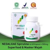 NEOALGAE SPIRULINA 60 X 500 mg ( Multivitamin & Masker Wajah )