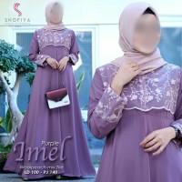 baju gamis wanita terbaru 2019 imel original shofiya hijab