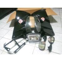 fairing atas ninja ssr super copy bahan abs plastik