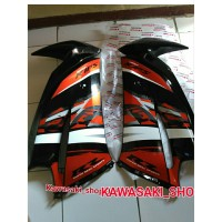fairing body sayap ninja rr new orange special edition 2014