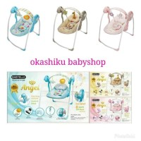 Babyelle portable swing bouncer / ayunan bayi electrik