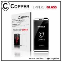 Oppo F5 - OPPER Tempered Glass Full Glue PREMIUM Glossy