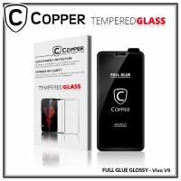 Vivo V9 - OPPER Tempered Glass Full Glue PREMIUM Glossy