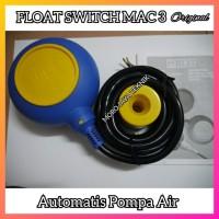 Float Switch Mac3 Automatis Pompa Air Lever Switch Air Bersih Original
