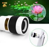Lensa Tele Zoom 12X Universal Tahan Lama utk Handphone / Smartphone
