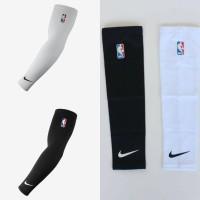 Arm Sleeve Polos Sleeve Tangan Polos Basket Nike NBA Hitam dan Putih