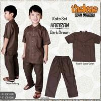 diskon 20% usia 10-13 th baju kemeja koko anak HAMIZAN thaluna
