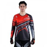 AVELIO Flank Air Kaos Baju Jersey Sepeda Indonesia Lengan Panjang