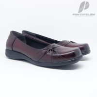 Sepatu Wanita Kulit Asli-Sepatu Kantor Pantofel Kulit Asli 701TSP